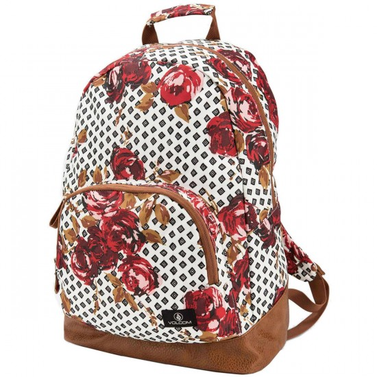 Volcom Schoolyard Poly Backpack - Blood Red