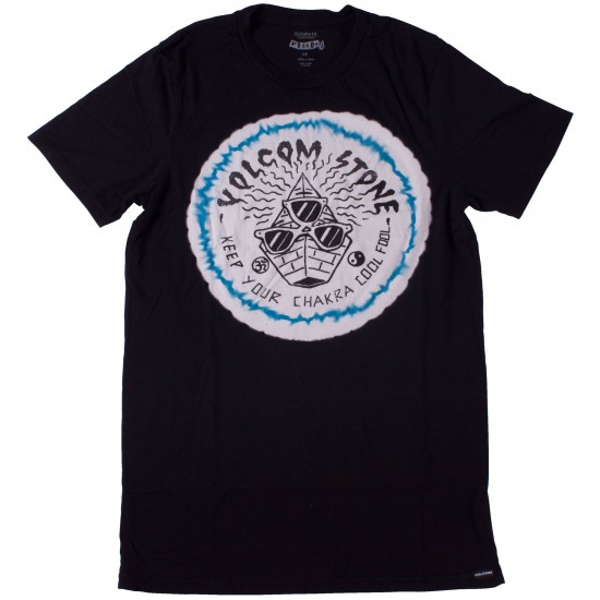 Volcom Shady Chakras T-Shirt - Tinted Black