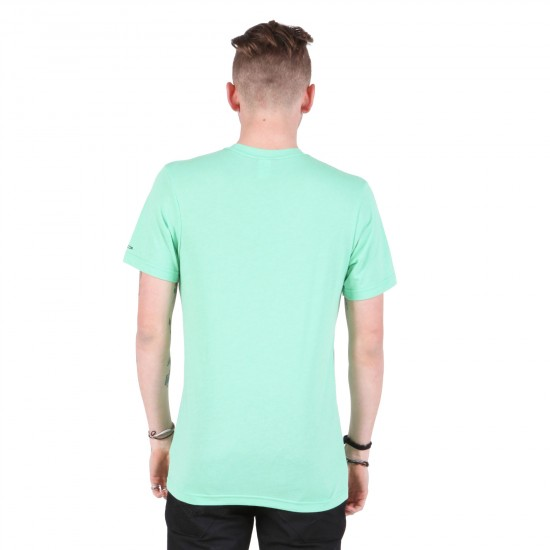 Volcom Solid Heather T-Shirt - Celadon