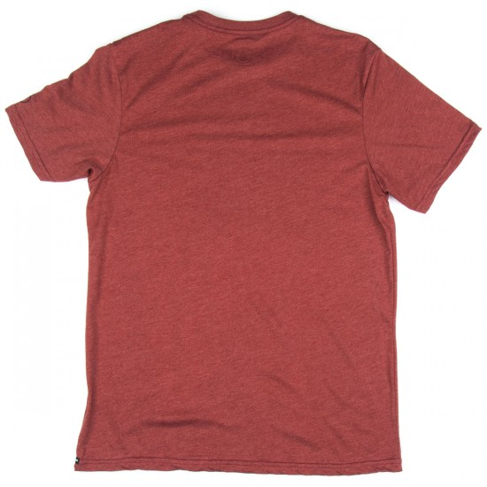 Volcom Solid Heather T-Shirt - Port