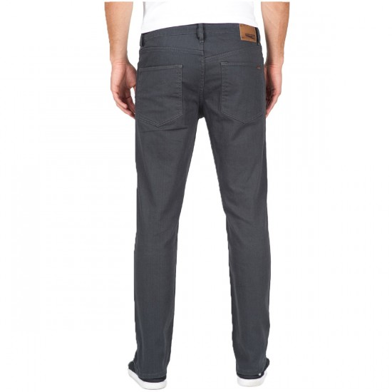 Volcom Solver Twill Pants - Charcoal - 29 - 32