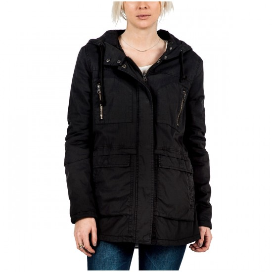 Volcom Stand Up Womens Jacket - Black