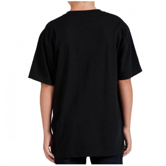 Volcom Stick Stones Youth T-Shirt - Black