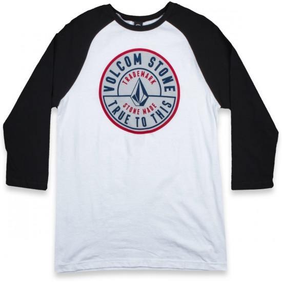 Volcom Stone Made Raglan T-Shirt - White