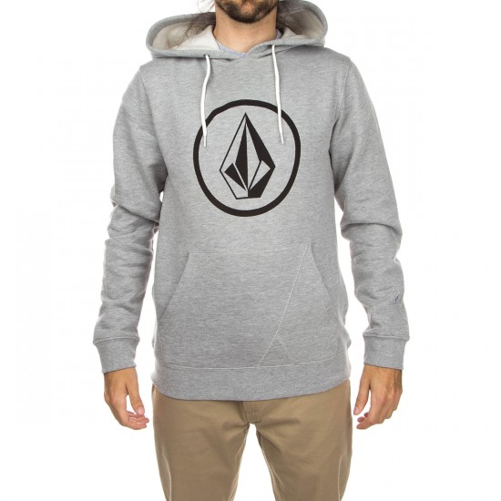 Volcom Stone Pullover Hoodie - Heather Grey