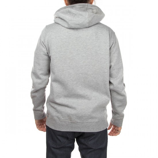 Volcom Stone Zip Hoodie - Heather Grey