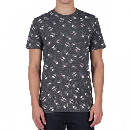 Volcom Stoney FO T-Shirt - Charcoal Heather