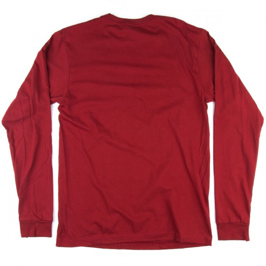 Volcom Stonith Long Sleeve T-Shirt - Crimson