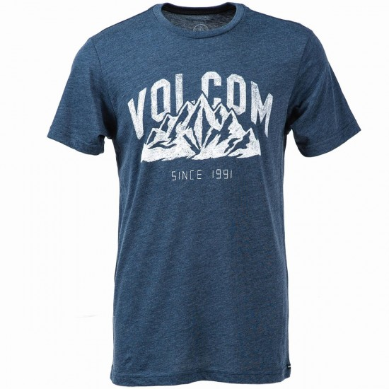 Volcom Stonith Short Sleeve T-Shirt - Navy
