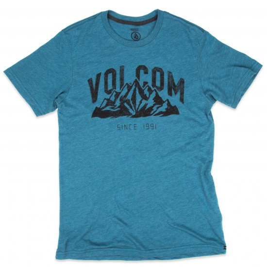 Volcom Stonith Short Sleeve T-Shirt - Sun Faded Indigo