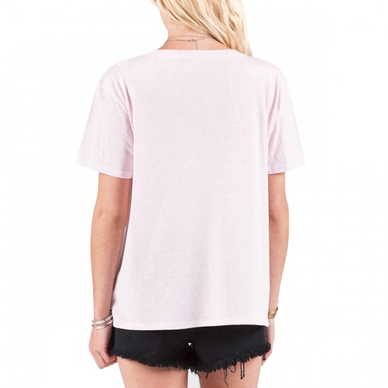 Volcom Take A Trip T-Shirt - Barely Pink