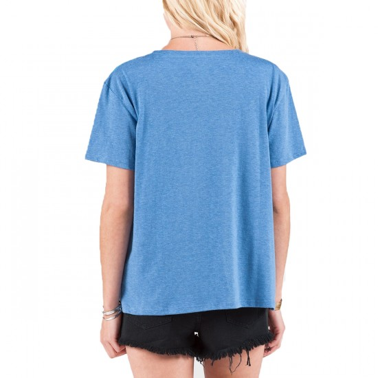 Volcom Take A Trip T-Shirt - Sandy Indigo