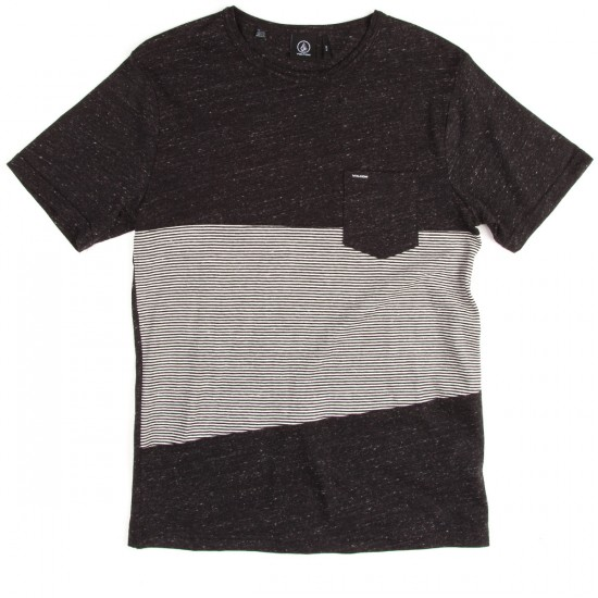 Volcom Threezy Crew T-Shirt - Black