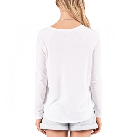 Volcom Tripod Long Sleeve T-Shirt - White