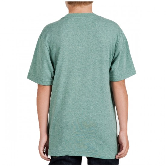 Volcom Wax On Toddler/Youth T-Shirt - Grass Green