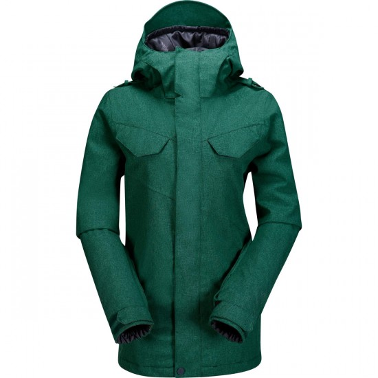 Volcom Wing Insulated Women's Jacket 2015 - Spruce