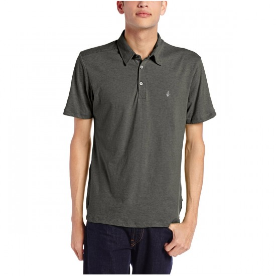 Volcom Wowzer Polo Shirt - Dark Grey