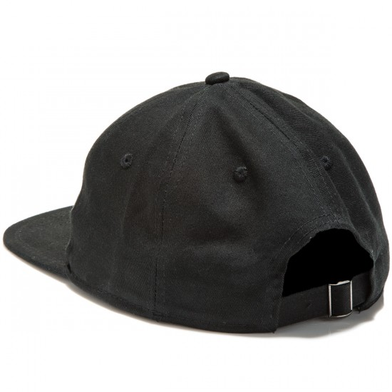 Welcome Dark Energy Unstructured 6-Panel Slider Hat - Black/Gold
