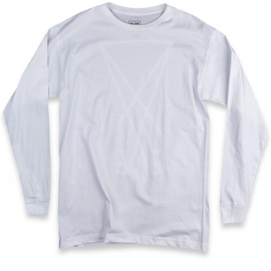 Welcome Devour Long Sleeve T-Shirt - White/Glow