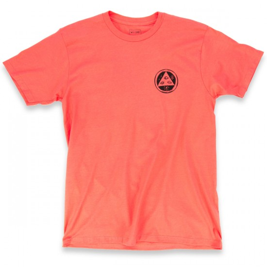 Welcome Featherless T-Shirt - Coral/Teal