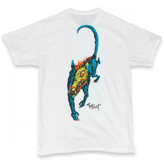 Welcome Miller Beast T-Shirt - White