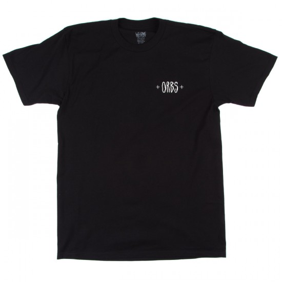 Welcome Orbs Ghost T-Shirt - Black