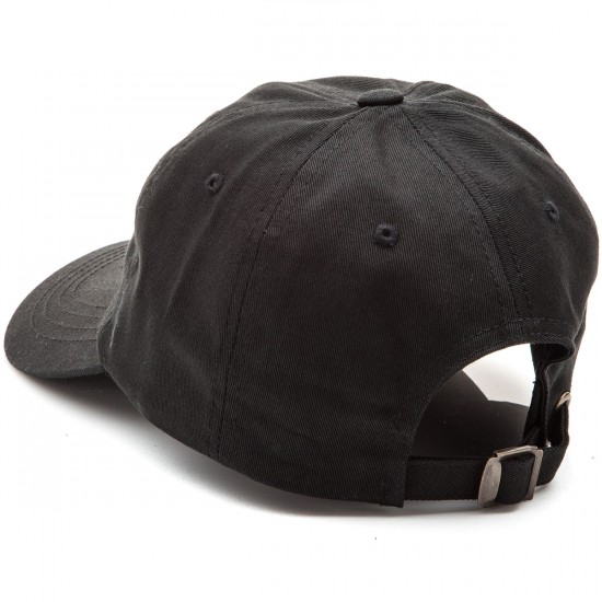 Welcome Saberskull Unstructured Slider Hat - Black/Peach