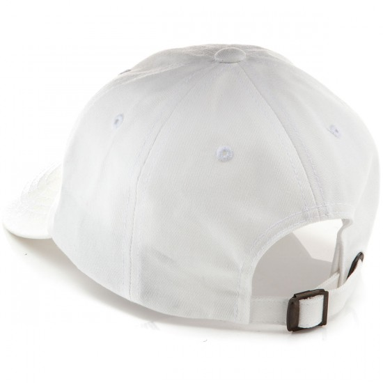 Welcome Saberskull Unstructured Slider Hat - White/Black