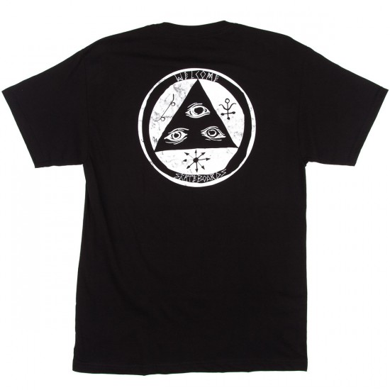 Welcome Talisman Fill T-Shirt - Black/White Marble