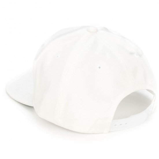 Welcome Talisman Snapback Hat - White/Black