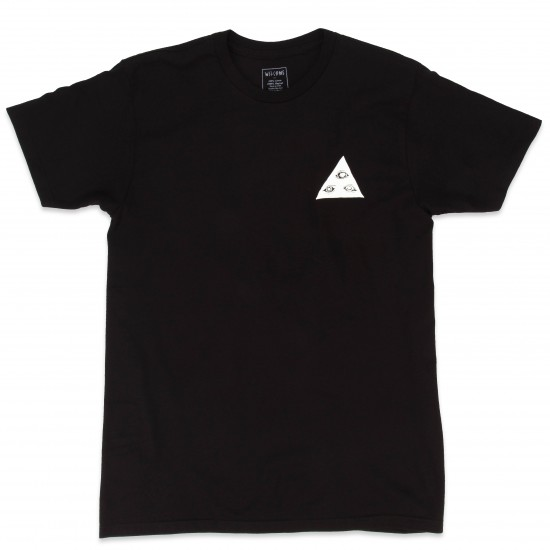Welcome Talisman Tri-Color T-Shirt - Black/Red/White