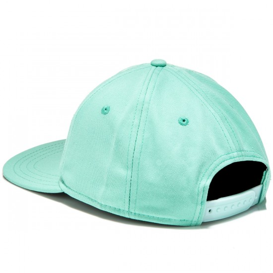 Welcome Talisman Unstructured Snapback Hat - Mint/Black