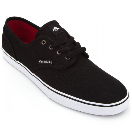 Emerica Wino Cruiser Shoes - Black/White - 6.0