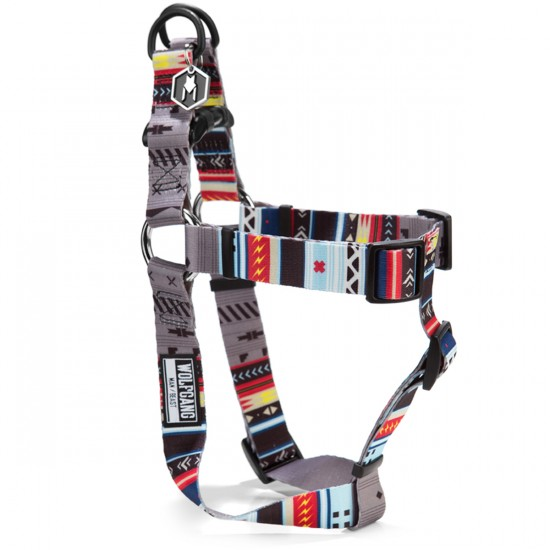 Wolfgang Native Lines Dog Harness  - Grey - MD