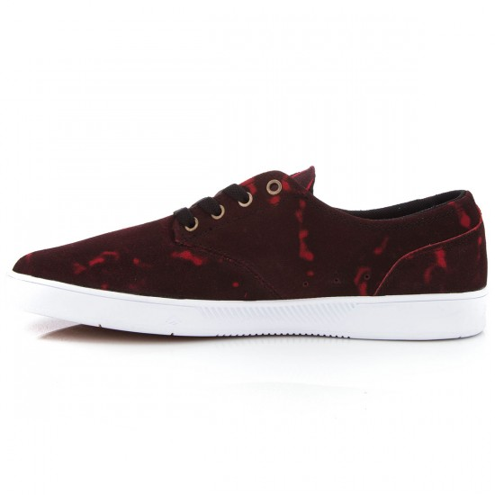 Emerica X Toy Machine The Romero Laced Shoes - Black/Red - 10.0