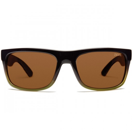 Zeal Essential Sunglasses - Brown + Olive Fade/Copper