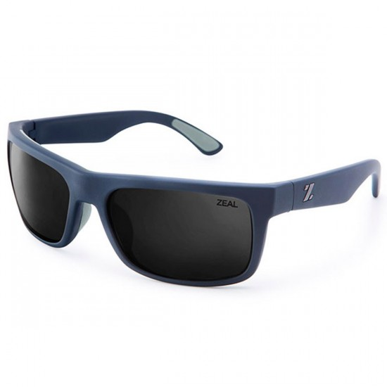 Zeal Essential Sunglasses - Navy Blue/Dark Grey