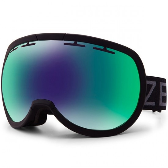 Zeal Level Snowboard Goggles - Dark Night/Jade Mirror