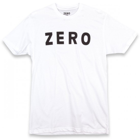 Zero Army T-Shirt - White/Black