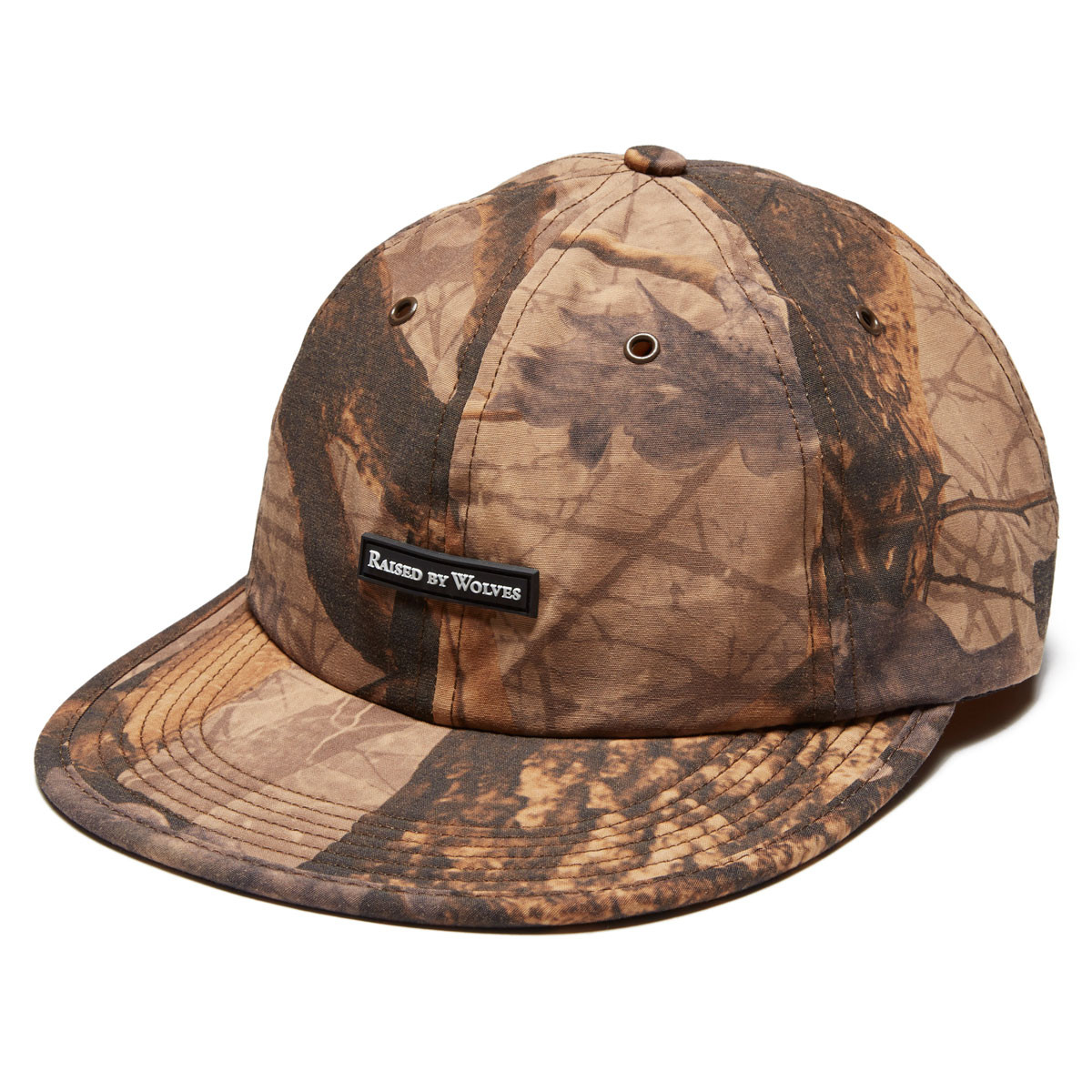 d13bd87a0f1 Raised by Wolves Commander 6 Panel Hat - Forest Camo