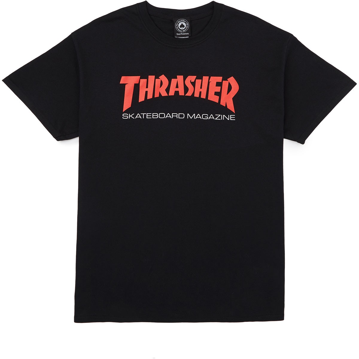 b7d3cde66 Thrasher Two-Tone Skate Mag T-Shirt - Black