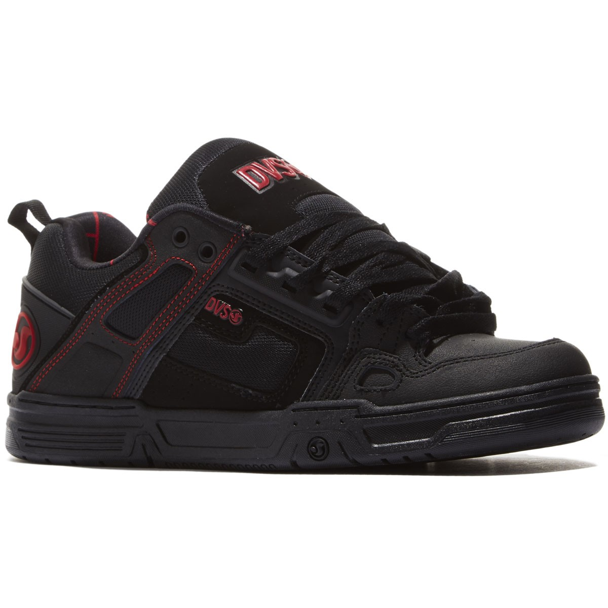 DVS Comanche Shoes - Black/Red/Black - 8.0