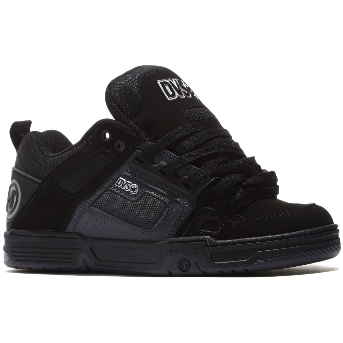 DVS Comanche Shoes - Black/Grey/Black/Nubuck - 8.0
