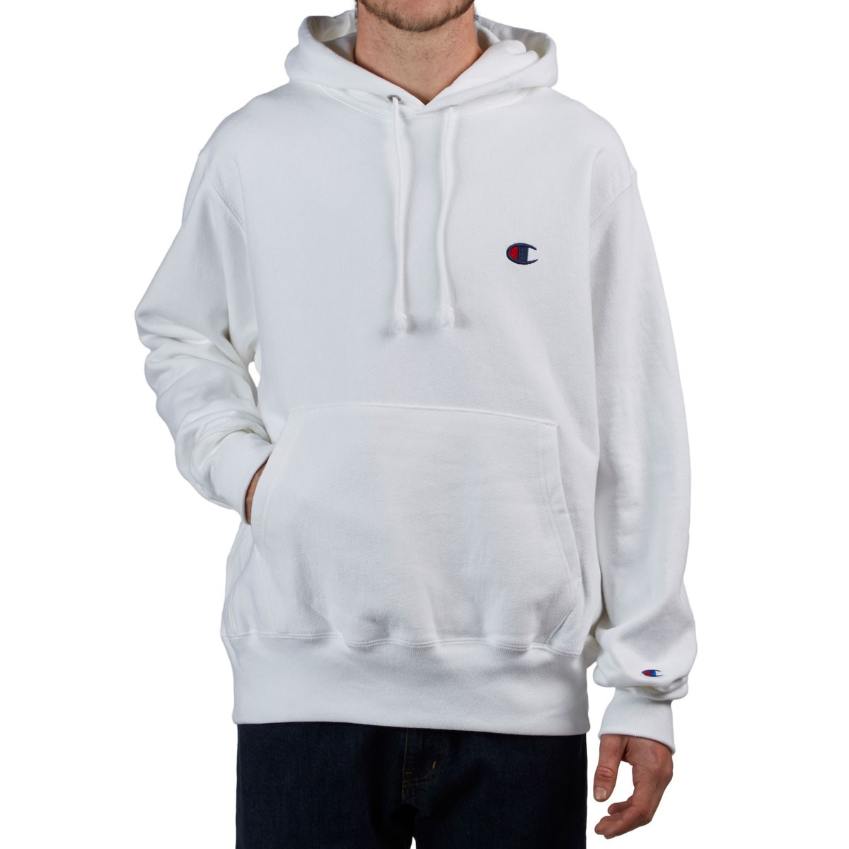 8a46daec Champion Reverse Weave Pullover Hoodie - White