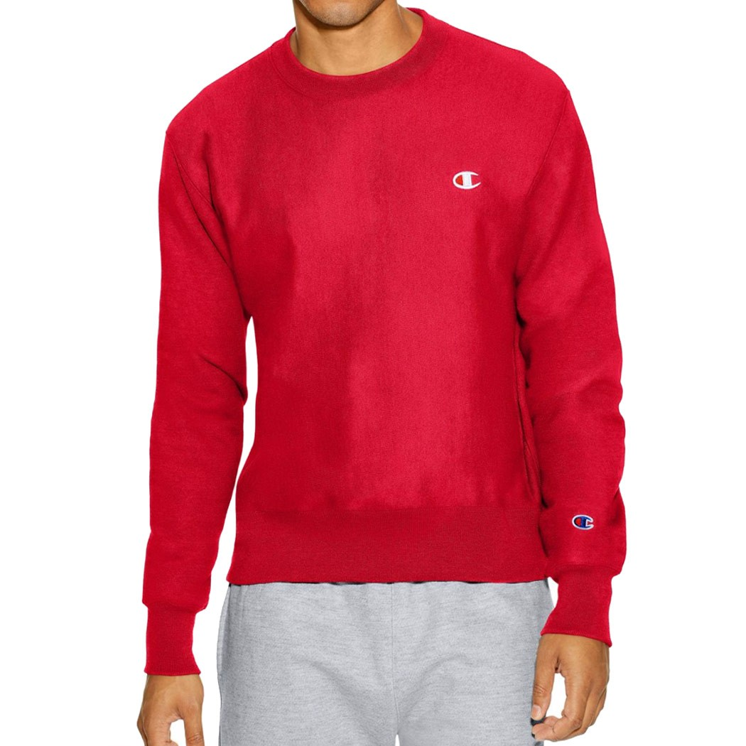 25013cd2b7ba Champion Reverse Weave Crew Sweatshirt - Team Red Scarlet