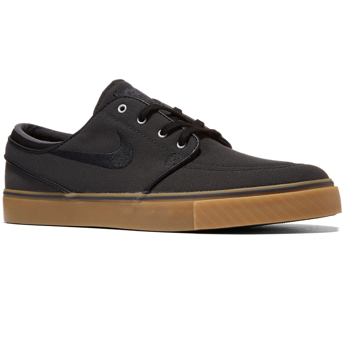 Nike Zoom Stefan Janoski Canvas Shoes - Anthracite/Gum/Silver