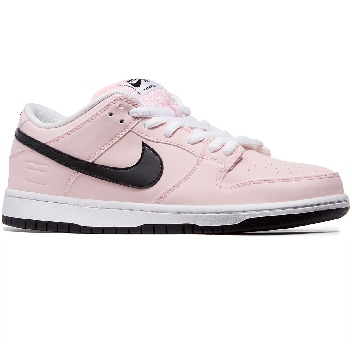 3e0b40d8700f Nike SB Pink Box Dunk Low Elite Shoes - Prism Pink Black White -