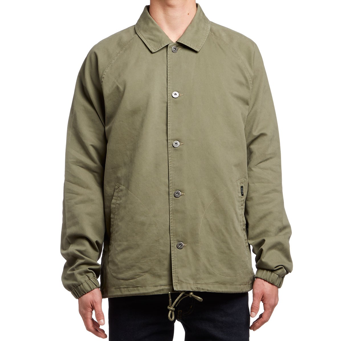 RVCA MVP Coaches Jacket - Leaf