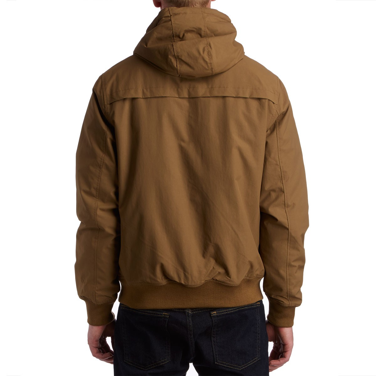 Rvca Bus Stop Bomber Jacket Bark