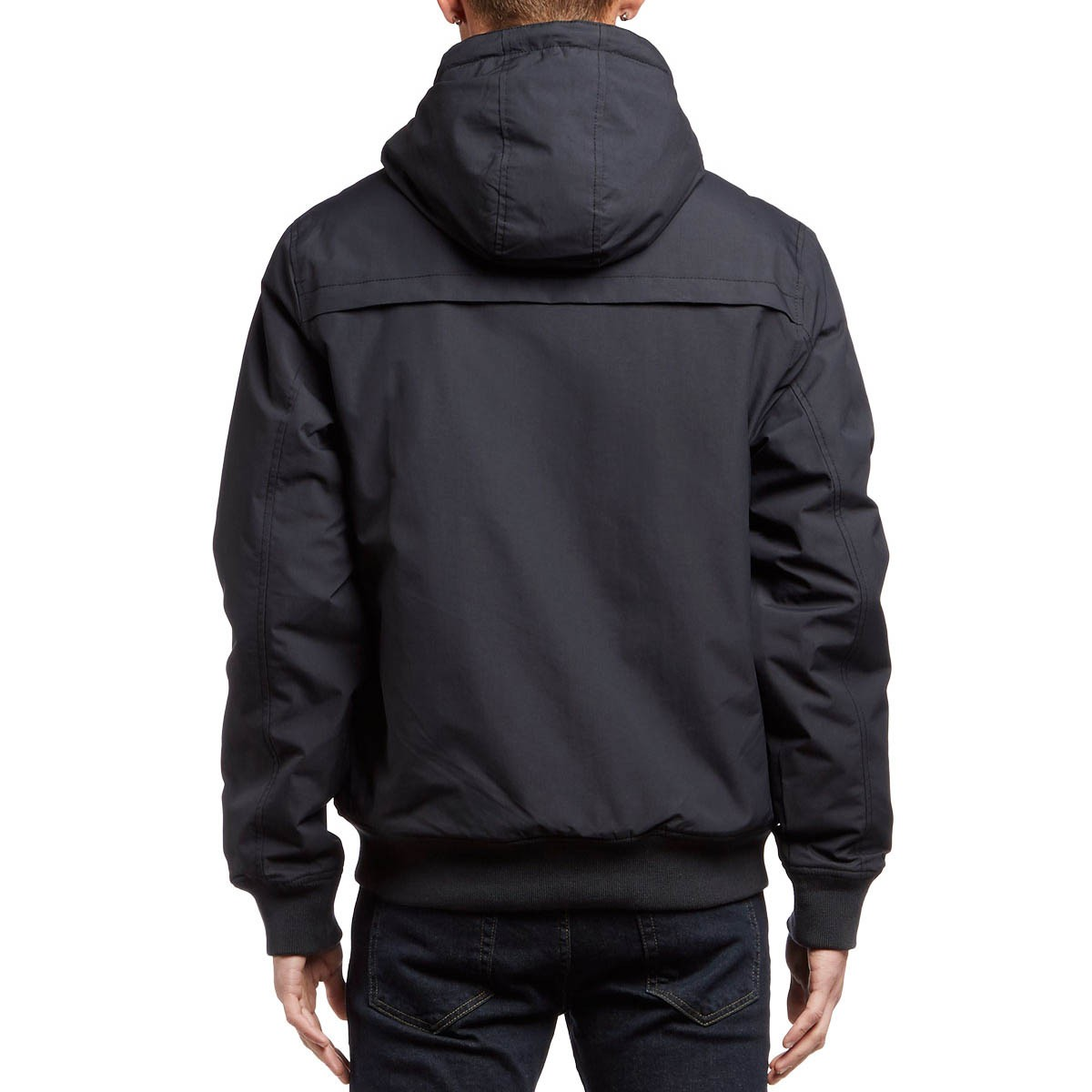 Rvca Bus Stop Bomber Jacket Black